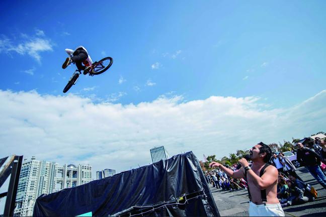 ジャンプショー写真