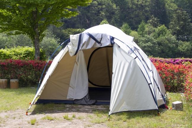 テント写真